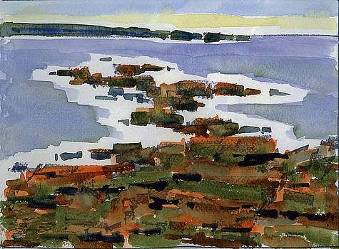 Lobster Point, Marginal Way, Ogunquit, ME by Mary Byrom
