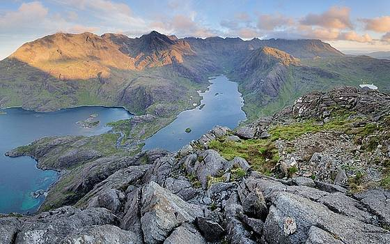Loch Coruisk and the Black Cuillin by Stewart Smith
