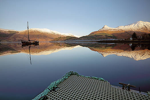 Loch Leven Reflection by Grant Glendinning