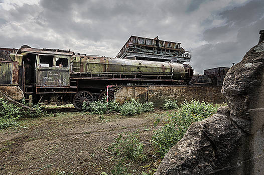 Locomotive Graveyard by Antony Meadley