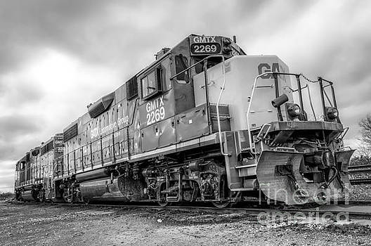 Locomotive Storm Chaser by Robert Heber
