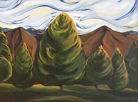 Lollipop Trees by Pat Purdy