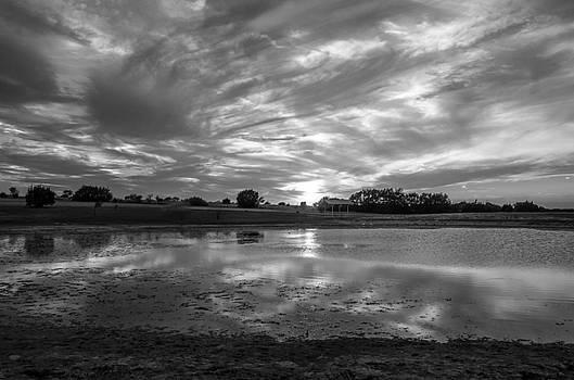 Lomete Sunset B W by Bob Marquis