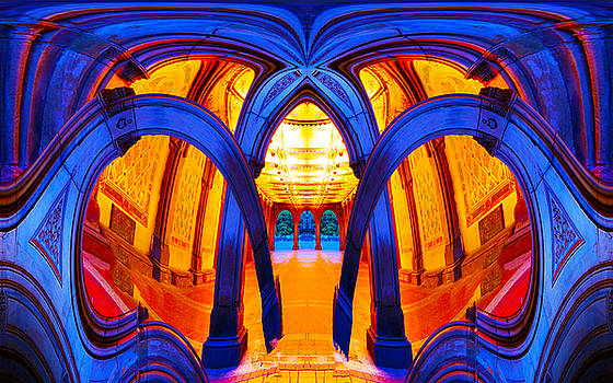 London Arches Melting Down 2 by Bruce Iorio