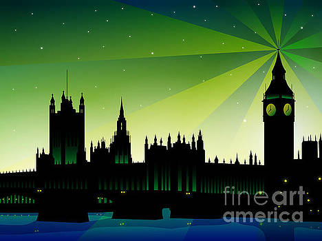 London Big Ben by Sandra Hoefer