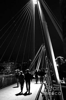 London England Golden Jubilee Bridges by ELITE IMAGE photography By Chad McDermott