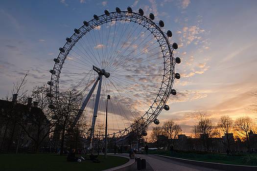 London Eye by James Evans