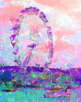London Eye by Marilyn Sholin