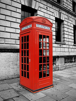 London Phone Booth by Rhianna Wurman
