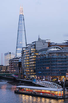 London's Shard by David Isaacson