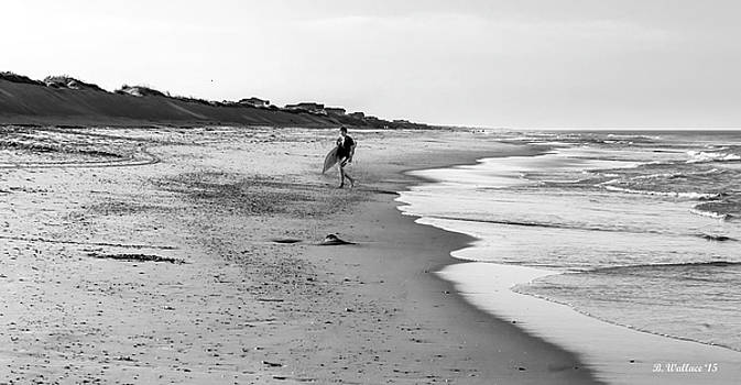 Lone Surfer by Brian Wallace