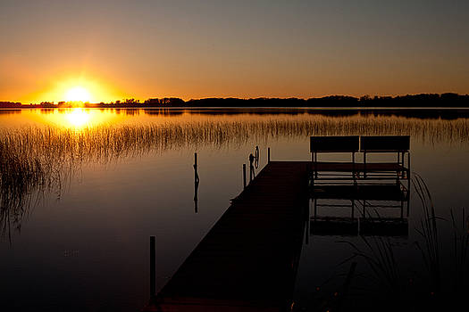 Lonely Dock by Chris Coward