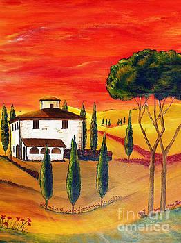 Heat of Tuscany by Christine Huwer