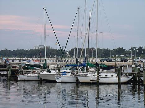 Long Beach Harbor Mississippi by Ann Kleinpeter