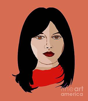 Kate Farrant - Woman with Long dark hair