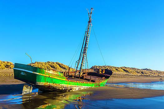 Long Forgotten Fishing Boat by Garry Gay