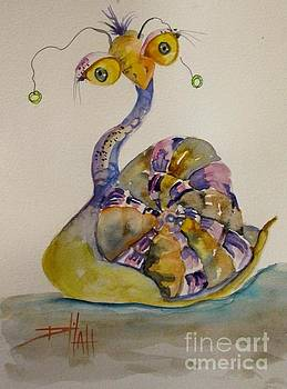 Long Necked Snail by Delilah  Smith