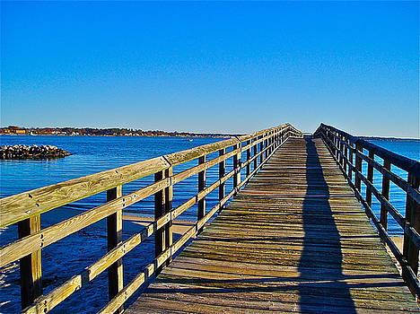 Long Pier by E Robert Dee