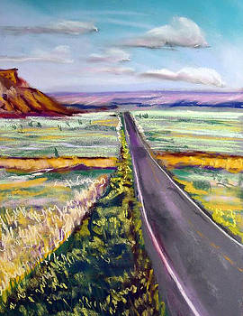 Long Utah Road by George Grace
