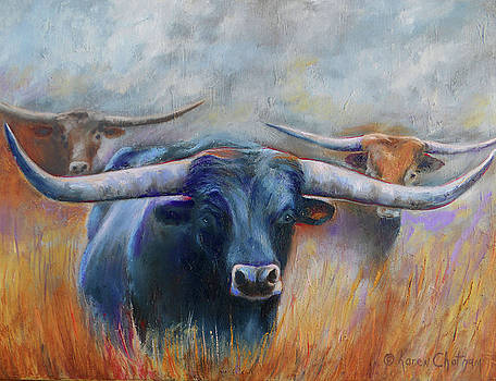 Longhorn Country by Karen Kennedy Chatham