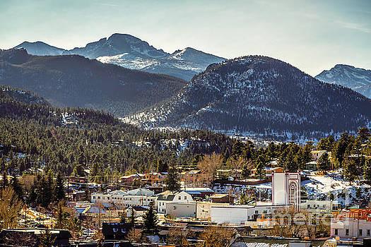Jon Burch Photography - Longs Peak from Estes Park