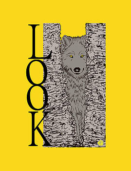 Look, the wolf by Robert Breton