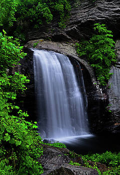 Looking Glass Falls 005 by George Bostian