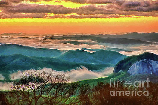 Dan Carmichael - Looking Glass In the Blue Ridge at Sunrise AP