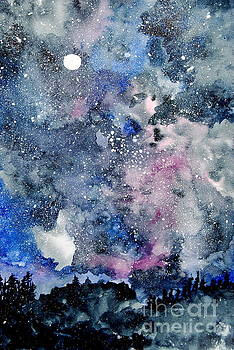 Looking Into The Heavens For Answers by Eunice Miller