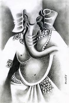 Lord Ganesha by Bharati Subramanian