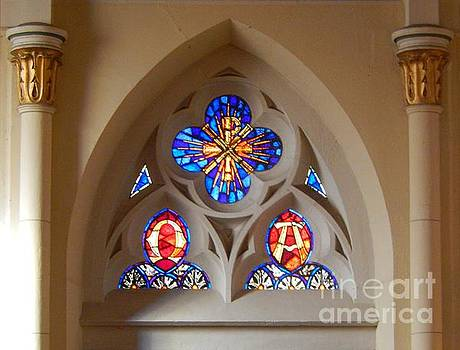 Loretto Chapel Stained Glass Window by Ann Johndro-Collins