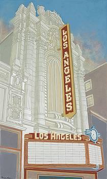 Los Angeles Theatre by David Hinchen