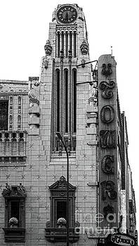 Gregory Dyer - Los Angeles Tower Theater - black and white