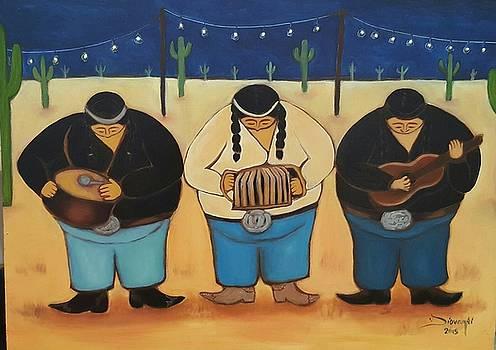 Los Musicos by Yovannah Diovanti