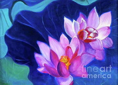 Lotus Blossom by Jenny Lee