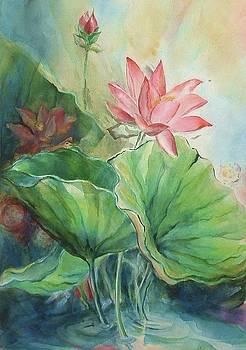 Lotus of Hamakua by Wendy Wiese