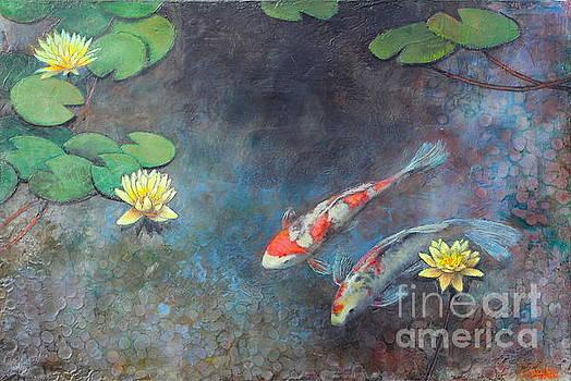 Lotus Pool by Lori McNee