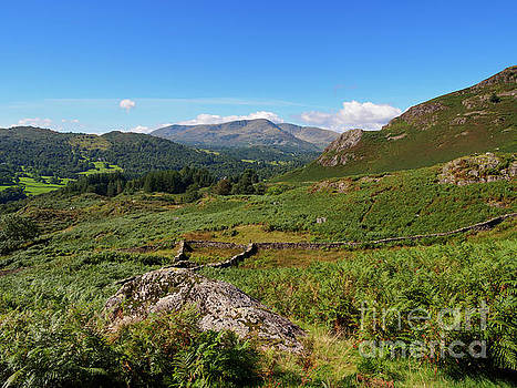 Loughrigg Fell in Lake District National Park by Louise Heusinkveld
