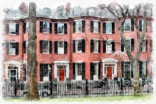 Edward Fielding - Louisburg Square Beacon Hill Boston