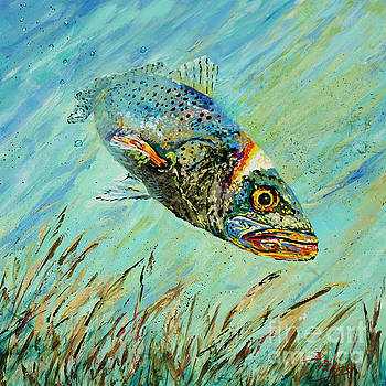 Louisiana Speckled by Dianne Parks