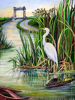 Louisiana Wetlands by Elaine Hodges