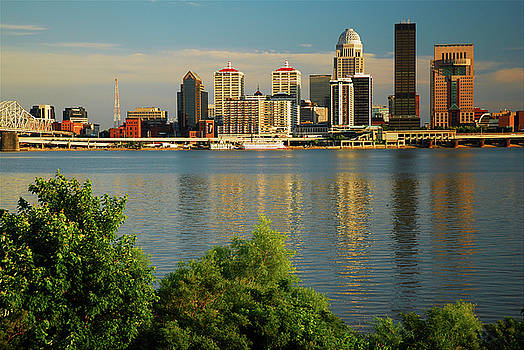 Louisville Refelctions by James Kirkikis
