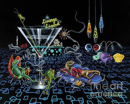 Lounge Lizard by Michael Godard