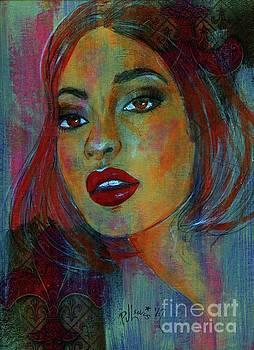 Lourdes at Twilight by P J Lewis