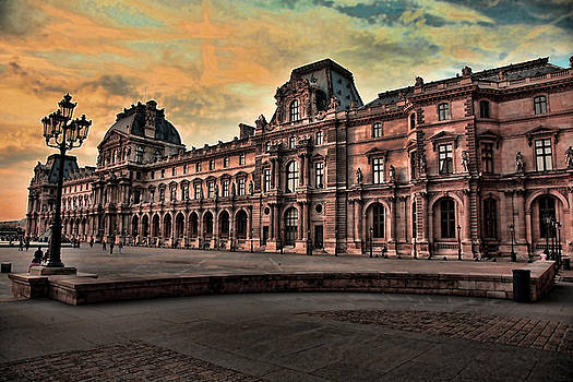 Chuck Kuhn - Louvre Architecture