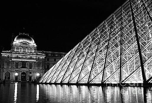 Louvre Paris by Tony Black