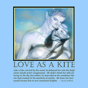 Love as a Kite by Jaeda DeWalt