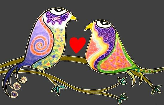 Love Birds by Rick Cheadle