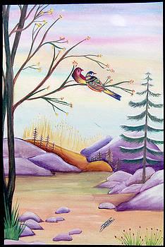 Love Birds by Sonam Shine