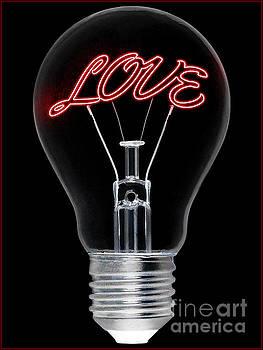 Love Bulb by Christos Koudellaris